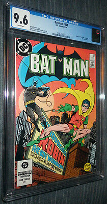Batman #368 CGC 9.6 White pages - Jason Todd becomes Robin! Great cover!