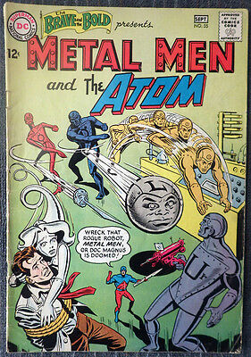Brave and the Bold #55 - Metal Men & The Atom - Ramona Fradon!