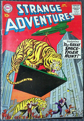 Strange Adventures #115 - The Great Space-Tiger Hunt! Space Museum!