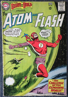 Brave and the Bold #53 - The Atom & The Flash - Alex Toth! 4th Team-Up Issue!