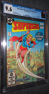 Daring New Adventures of Supergirl #1 CGC 9.6 White Pages 1st Electrifying Issue