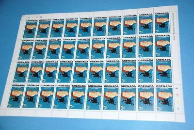 Man on Horse Sc 628, MNH Complete Sheet of 40, Grenada qq