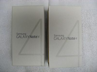 """Samsung Galaxy Note 4 T-MOBILE BOX Only """"NO PHONE"""""""