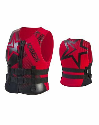 Jobe Progress Neo Vest Youth Red Children´s vests Lifejacket Boat Wasser SUP j16