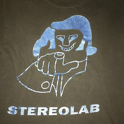 Stereolab Shirt Vintage Rare Indie Shoegaze Psych Krautrock Neu! Can Faust Pop