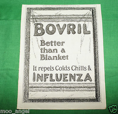Original 1912 full page Bovril advert from Punch Magazine