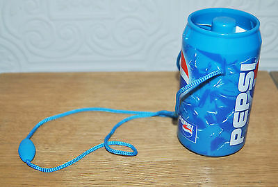 Fab Pepsi Cola Can Shaped Battery Operated Handheld Fan (With Carry Strap)
