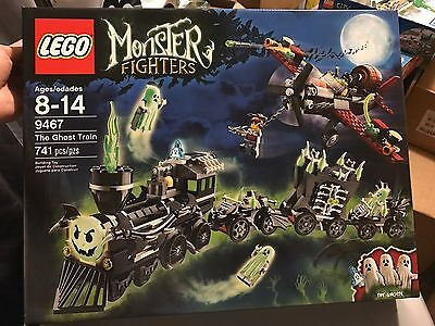 LEGO MONSTER FIGHTERS 9467 THE GHOST TRAIN - NEW SEALED BOX Free dimension