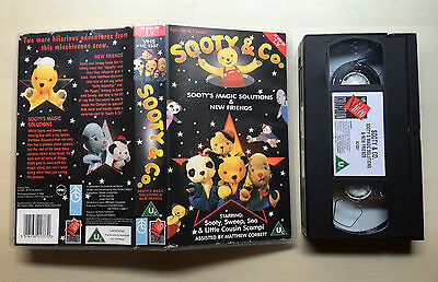 Sooty & Co. - Sooty's Magic Solutions & New Friends - Vhs Video