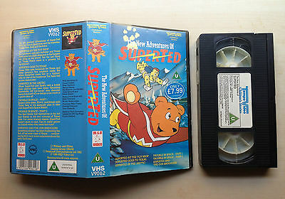 The New Adventures Of Superted - Rare Vhs Video