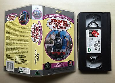Thomas The Tank Engine & Friends - Escape And Other Stories - Vhs Video