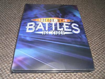 Full Set - Dr Who Battles in Time Trading Cards - Exterminator - Cards + Album