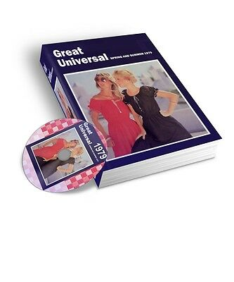 1979 Great Universal Spring & Summer Mail Order Catalogue Pdf & Jpeg On Dvd