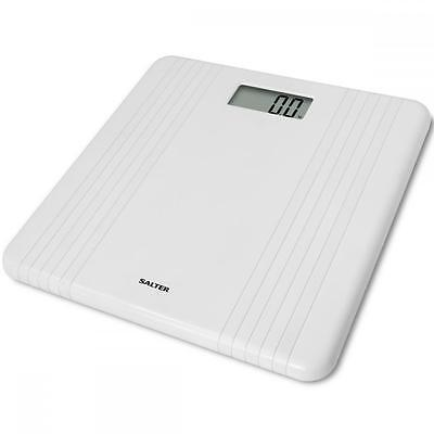 Salter 9083WH3T HIgh Gloss White Platform Easy To Read LCD Digital Kitchen Scale