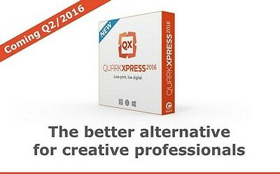 QuarkXPress 2016 Full Version 2 Devices for Windows Digital