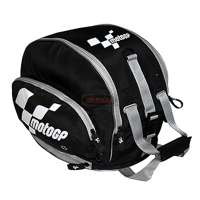 Moto Gp Motorcyle Tail Bag Helmet Bag Holdall Carrier With Storm Cover