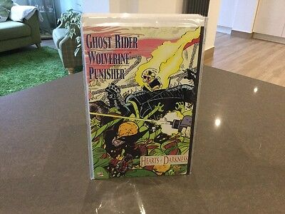 1991 Hearts Of Darkness One Shot Featuring Ghost Rider, Punisher, Wolverine