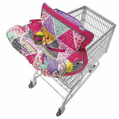 Grocery Cart Cover For Baby Shopping Toddler High Chair Washable Wipeable Covers