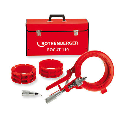 ROTHENBERGER 55035 ROCUT 110 Plastic Pipe Cutter; 50, 75, 110 mm range