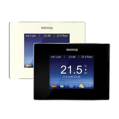 Warmup Underfloor Heating 4iE Smart Wi-Fi Digital Touchscreen Thermostat & Probe