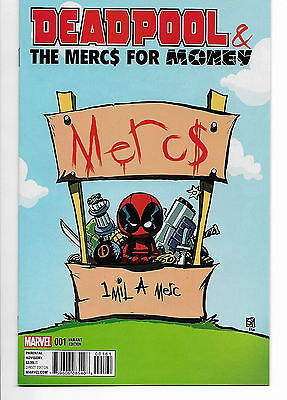 Deadpool and the Mercs for Money #1 - Skottie Young variant (2016) - Marvel