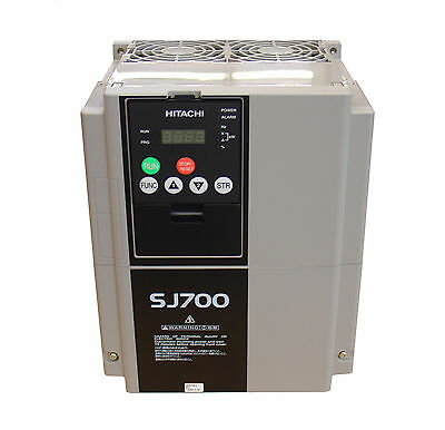 Hitachi Sj700-075Hfuf2,variable Frequency Drive, 10Hp, 460Vac, Three Phase Input