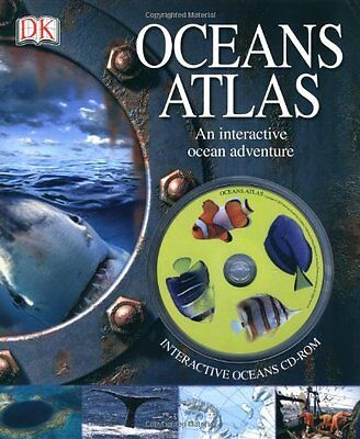 Oceans Atlas: with CD-ROM By John Woodward
