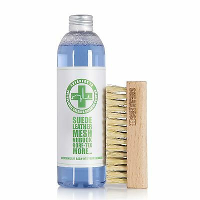 SneakersER Trainers Cleaning Solution 250ml & Brush Kit Free UK Shipping