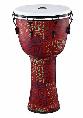 Meinl Percussion Large Mechanically Tuned Travel Djembe w/ Synthetic Shell