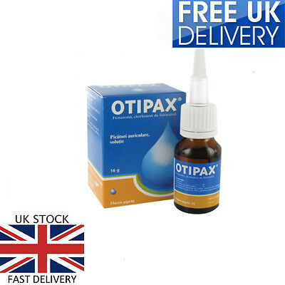 OTIPAX Ear Drops for Ease Pain ,Inflammation Relief ,Ear wax 16g