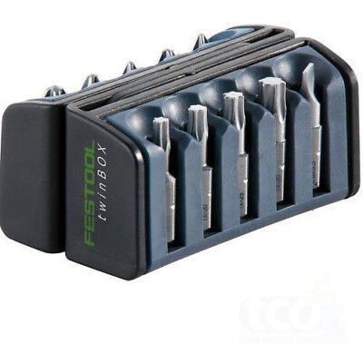 Festool BB-PZ TwinBox PZ1 PZ2 Pozidrive Screwdriver Bit Set - 10 Pieces - 496934
