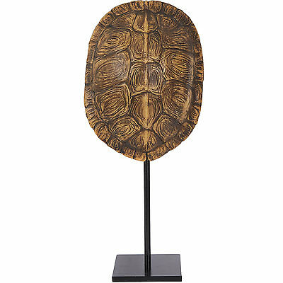 New Home Decoration Turtle Shell on metal stand Ornament Lovely Gift Collectable