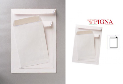 Buste A Sacco Bianche Adesive 250X353Mm 80Gr Competitor Marca Pigna Envelopes
