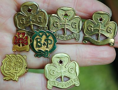 Girl guide badge collection