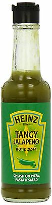 Heinz Hot and Zesty Tangy Jalapeno Chilli Sauce 150 ml (Pack of 6)