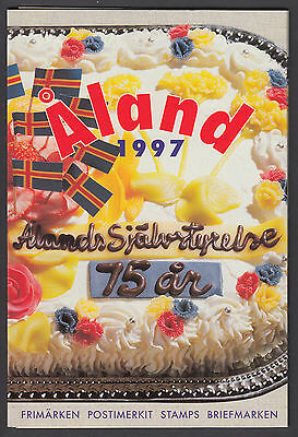Aland Official Year Pack 1997 - Mint Never Hinged