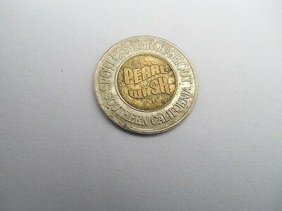 One Bi-Metal Southern California Pearl Car Wash Token