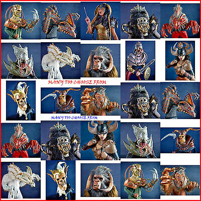 nightmare collections masks & costumes by mario chiodo dragon/knight/spider many