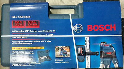 Bosch GLL-150-ECK Self Leveling 360 Degree Exterior Laser