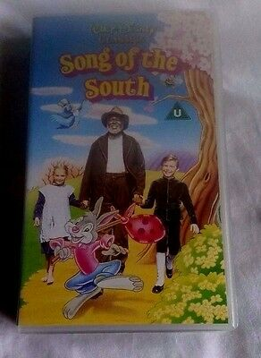 Walt Disney SONG OF THE SOUTH VHS Video Rare Never Released On DVD