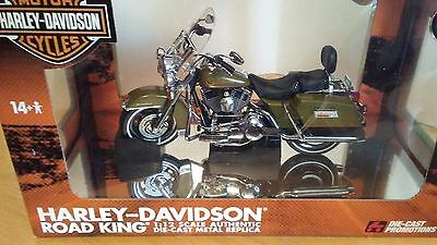 Harley Davidson Road King 1/12 Diecast Promotions Replica