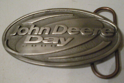 Vintage John Deere Day 2000 Belt Buckle