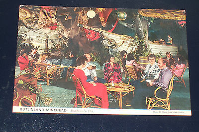 Butlins Minehead 3M18 Beachcomber Bar Butlinland Old Holiday Camp Postcard