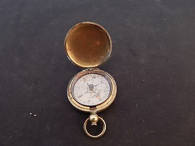 WW1 US Engineers POCKET COMPASS Taylor SHORT & MASON CEEBYNITE radium
