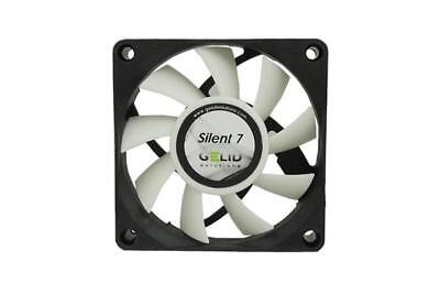 GELID SOLUTIONS Ventola SILENT 7 - Dimension of Fan mm: 70 x 70 x 15 3PIN M6B10
