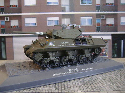 1/43 Ixo Altaya Tanque Tank M10 Gmc 2 Division Blindee