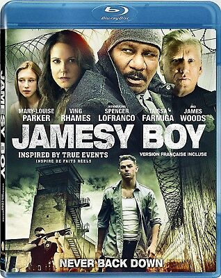 NEW BLU-RAY // ACTION // JAMESY BOY // Mary-Louise Parker, Ving Rhames, Taissa