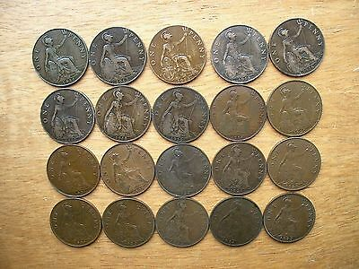 British - 1911 to 1936 George V  Penny - Choose your Date
