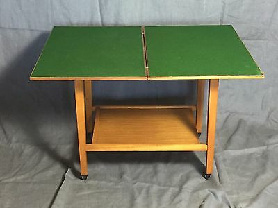 Folding top card/games table