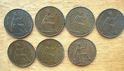 British - 1937 to 1951 George VI  Penny - Choose your Date - Better grades